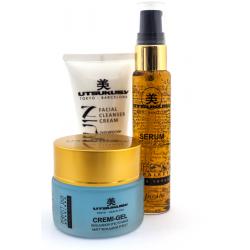 Utsukusy - Linea yogur - Perfect skin repairer - Kit de mantenimiento en casa - 50ml