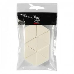 Peggy Sage - Esponja para degradados nail art - 10 unidades