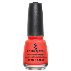 China Glaze - Orange knockout - 14 ml