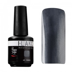 Peggy Sage - Esmalte semipermanente I-LAK - Metallic grey - 15 ml