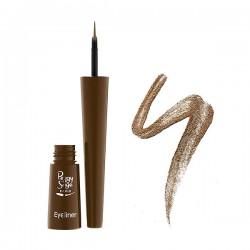 Peggy Sage - Eyeliner con pincel - Bronze - 2,5 ml