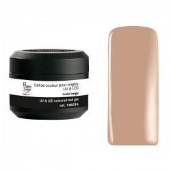 Peggy Sage - Gel de color para uñas UV y LED Color it - Nude beige - 5g