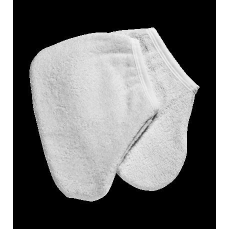 Peggy Sage - Par de guantes de toalla para pies