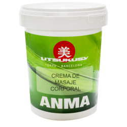 Utsukusy - Anma - Crema para masaje de reflexoterapía - 1kg