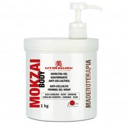 Utsukusy - Mokzai - Envoltura gel reafirmante y anticelulítico - 1kg