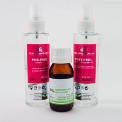 Utsukusy - Ácido pirúvico - Peeling quimico