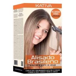 Kit de alisado brasileño KATIVA