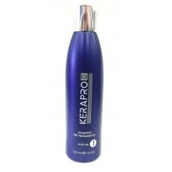 Kativa - Kerapro K5 - Tratamiento de alisado y reductor de volumen - Shampoo pre tratamiento - 225 ml