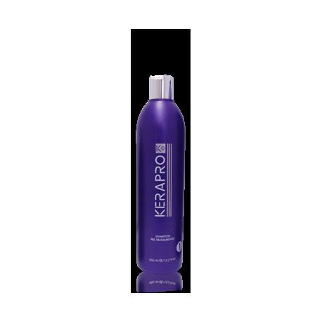Kativa - Kerapro K5 - Tratamiento de alisado y reductor de volumen - Shampoo pre tratamiento - 450