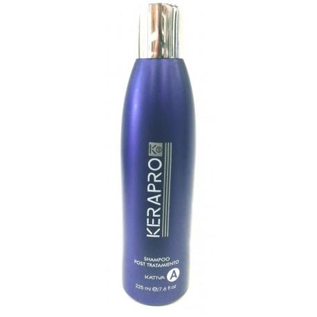 Kativa - Kerapro K5 - Tratamiento de alisado y reductor de volumen - Shampoo post tratamiento - 225 ml