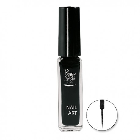 Peggy Sage - Esmalte de uñas nail art - Noir - 7 ml