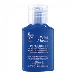 Peggy Sage - Pintura nail art - Paint Mania - Bleu électrique - 25 ml